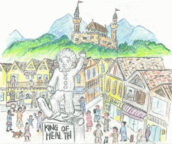 連載童話「たぼこ王国」第8回 文・絵:吉田 仁